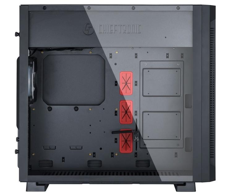 Корпус Chieftronic G1 позволяет создать игровой ПК с RGB-подсветкой