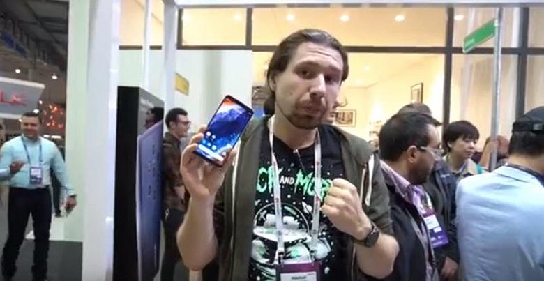 Видеопревью с выставки MWC 2019. Первый взгляд на смартфон Nokia 9 PureView с пентакамерой