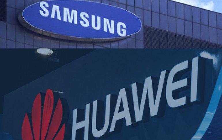 Huawei и Samsung смогли уладить патентный спор. Почти