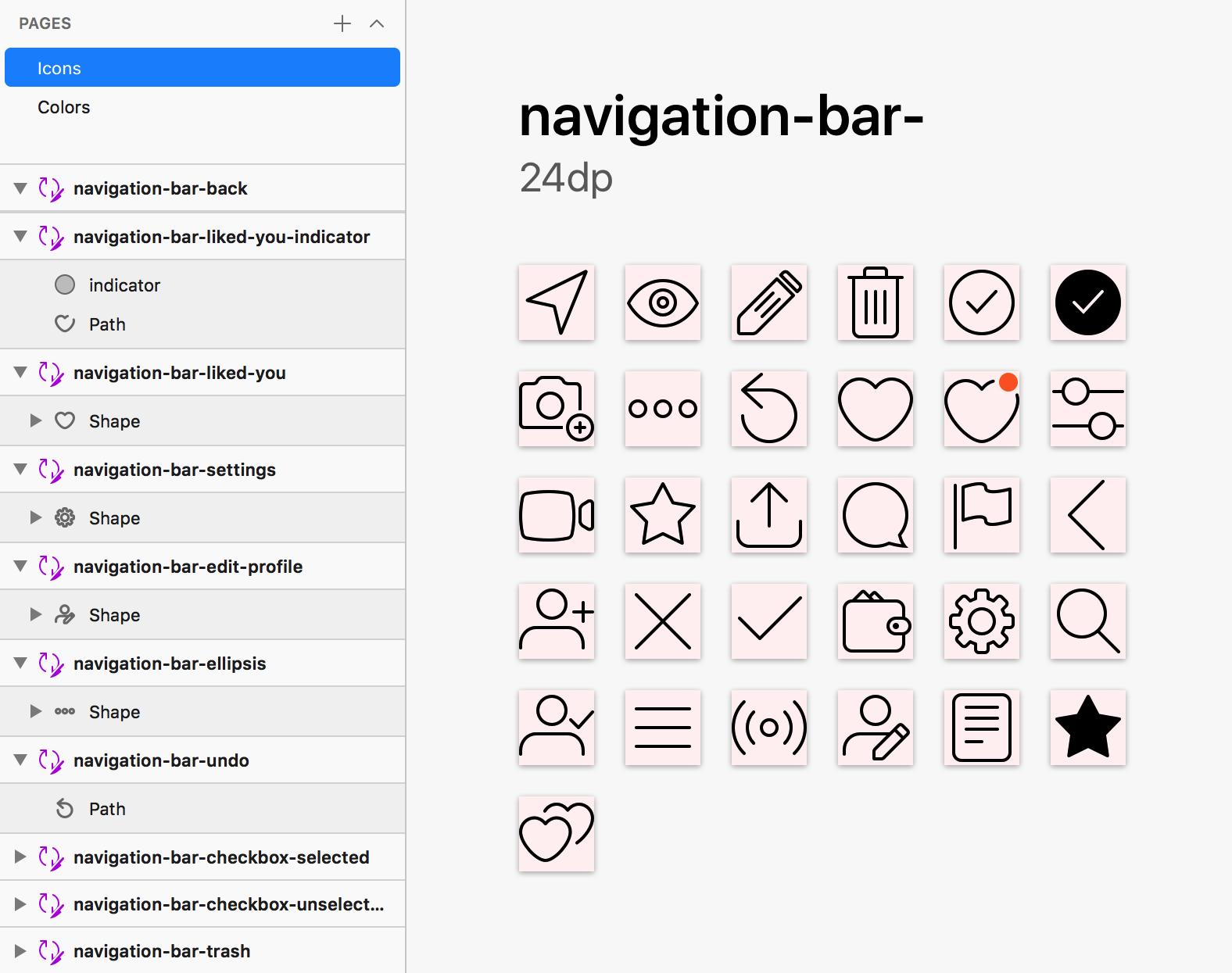 Sketch + Node.js: генерируем иконки для множества платформ и брендов - 7