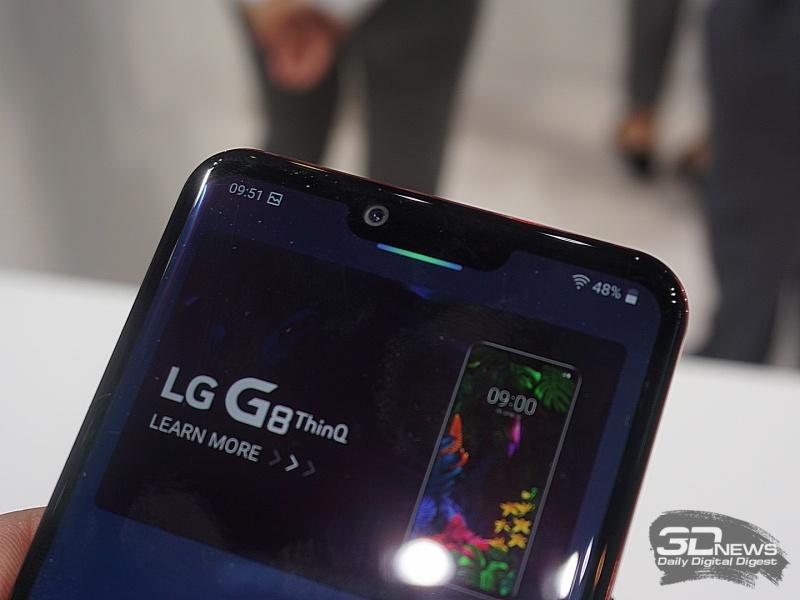 Новая статья: MWC 2019: Первый взгляд на LG G8 ThinQ и V50 ThinQ 5G — не такие как все