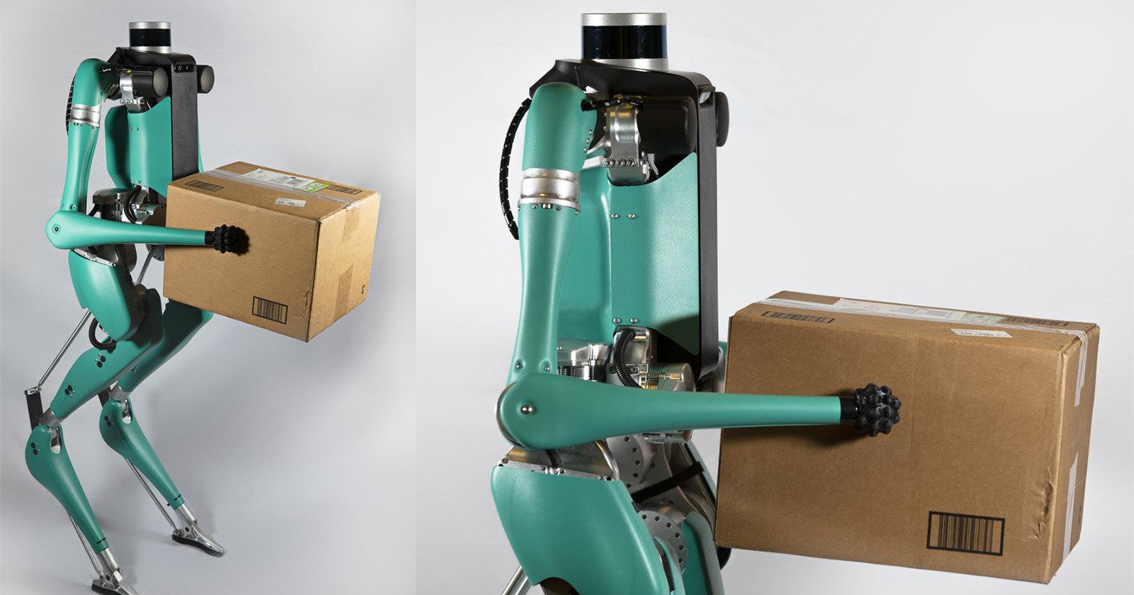 Бипедального робота-курьера оснастили руками