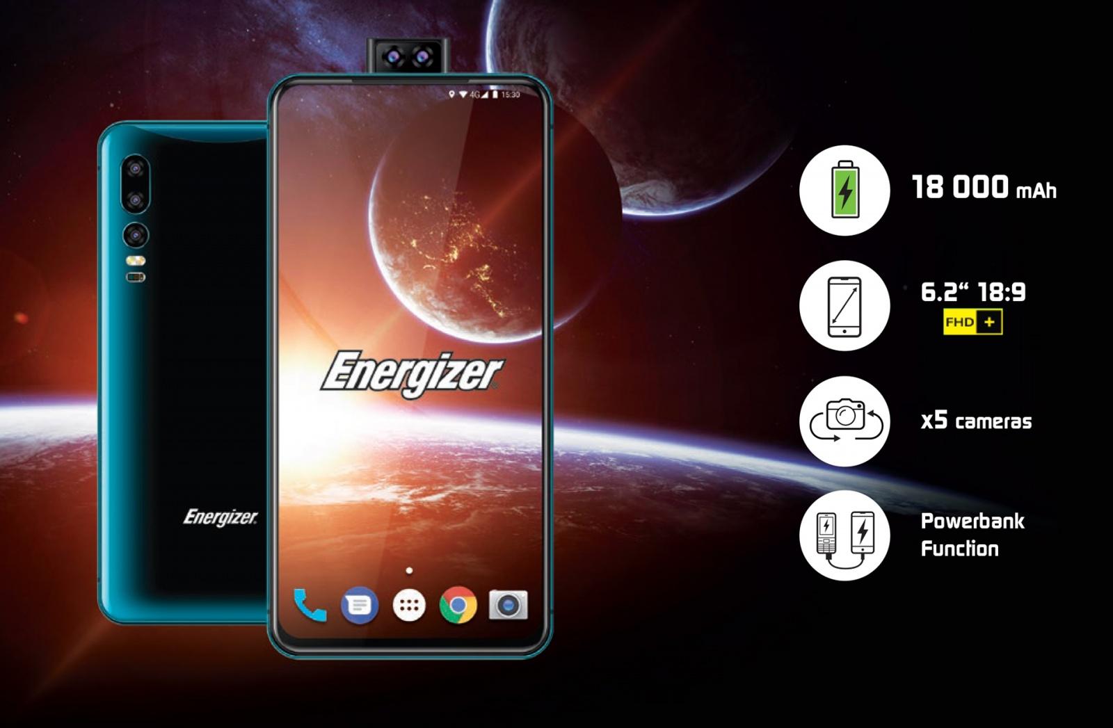 Телефон от Energizer: 18000 мАч чистой энергии - 1