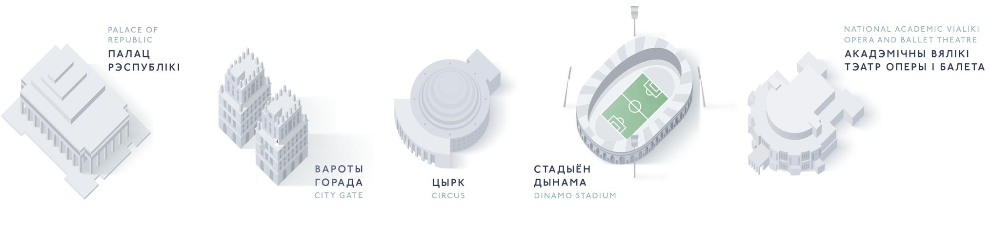 Здания Минска