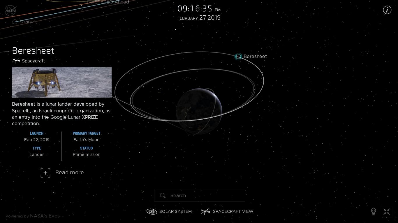 Лунная миссия «Берешит» – инженеры в ЦУП SpaceIL и Israel Aerospace Industries (IAI) решили возникшие проблемы - 14