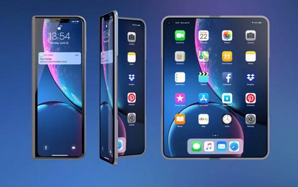 Мороз не страшен! Apple работает над складными iPhone с гибкими экранами с подогревом