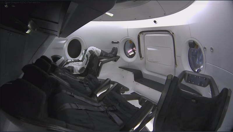 НАСА дало добро на беспилотный испытательный запуск Дракона-2 - 5