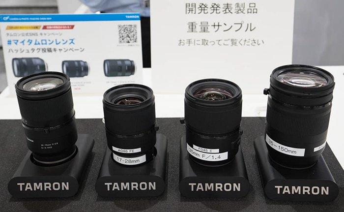 Появились первые изображения объективов Tamron 35mm f/1.4 и 35-150mm для камер с креплением Sony E