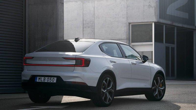 Представлен электромобиль Polestar 2