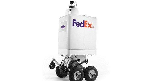 Представлен новый колесный робот-доставщик