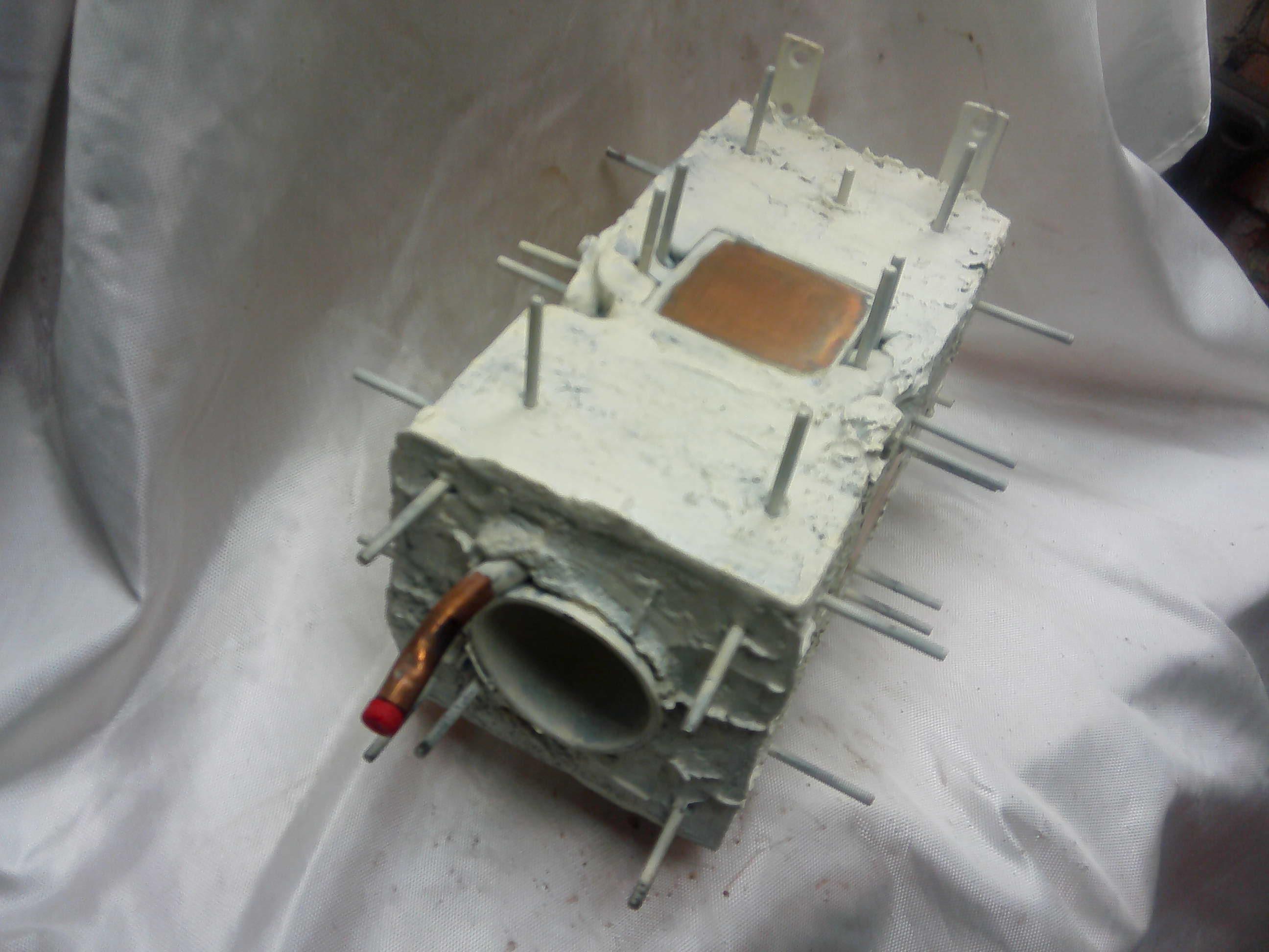 Воздушный холодильник для дистилляции.