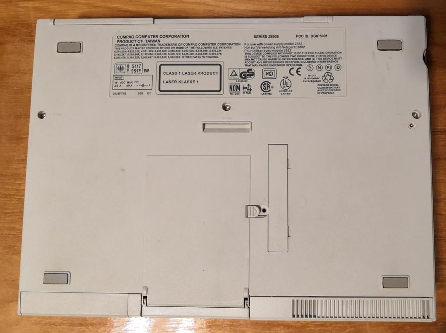 Ноутбук Compaq LTE 5000, часть первая — знакомство - 4