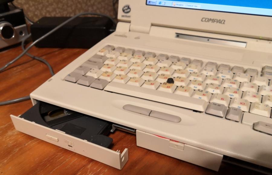 Ноутбук Compaq LTE 5000, часть вторая — про недостатки и их лечение - 13