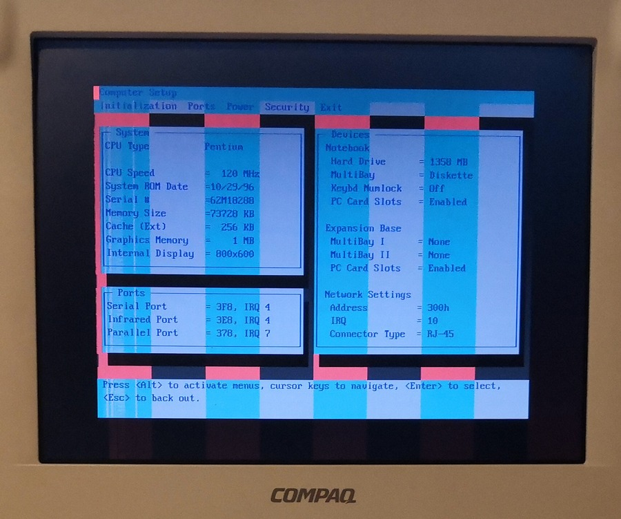 Ноутбук Compaq LTE 5000, часть вторая — про недостатки и их лечение - 17