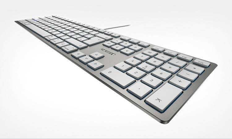 Толщина клавиатуры Cherry KC 6000 Slim For Mac составляет 15 мм