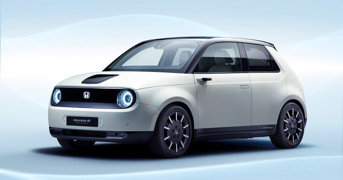 Honda рассказала о городском электрокаре e Prototype