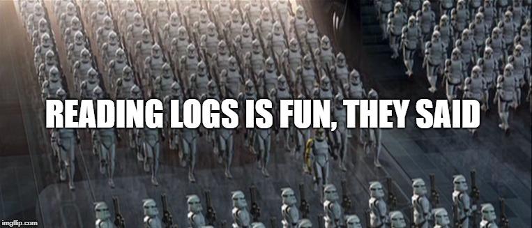 NodeJS logging made right - 1