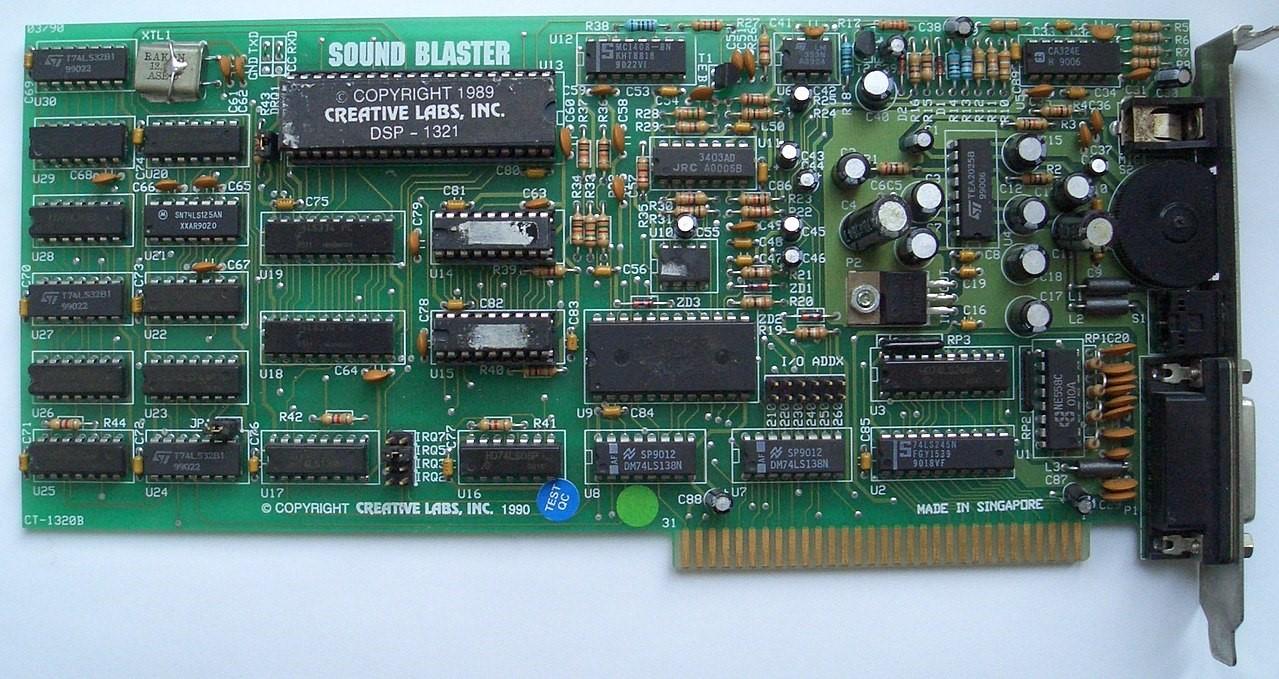 Энтузиаст воссоздал звуковую карту Sound Blaster 1.0 — рассказываем, чем примечателен проект - 2
