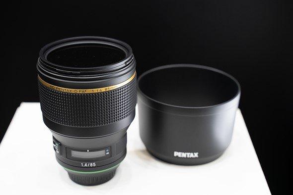 На CP+ показан макет объектива HD Pentax-D FA * 85 мм F1.4