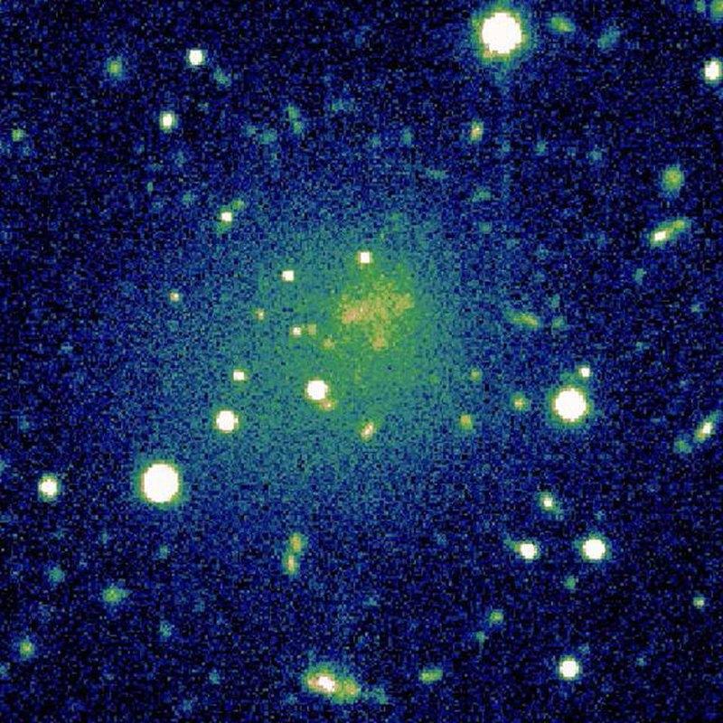 Обнаружена одинокая «анемичная» галактика