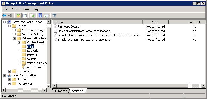 Управляем паролем локального администратора с помощью LAPS - 11