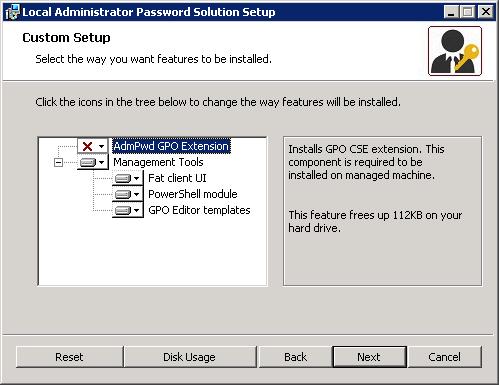 Управляем паролем локального администратора с помощью LAPS - 3