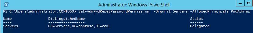 Управляем паролем локального администратора с помощью LAPS - 9
