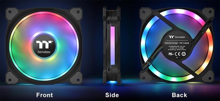 Thermaltake Riing Duo 14 RGB: комплект вентиляторов для радиатора СЖО