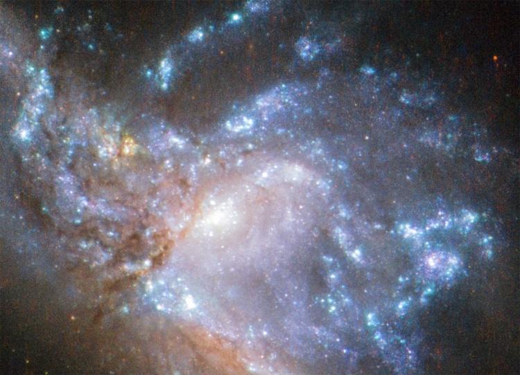 Фото дня: галактическое столкновение
