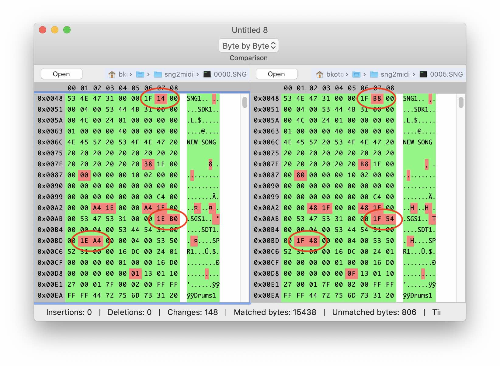 Реверс-инжиниринг бинарного формата на примере файлов Korg .SNG - 8
