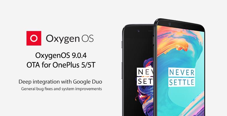 Смартфоны OnePlus 5 и OnePlus 5T получили новую прошивку OxygenOS