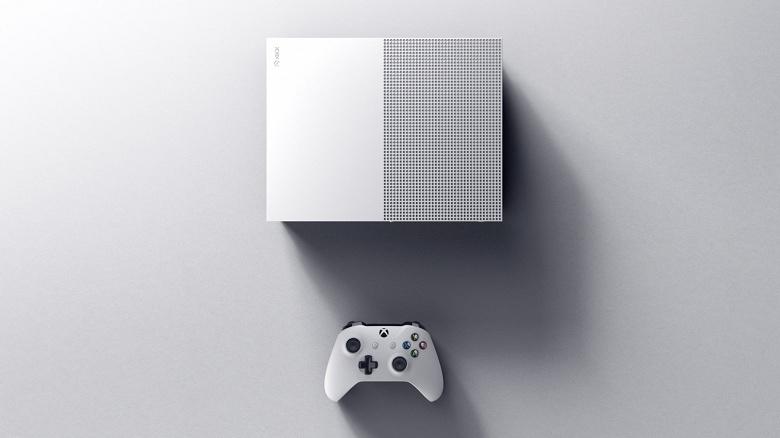 Дешёвая игровая консоль Xbox One S All-Digital Edition без оптического привода появится уже в апреле