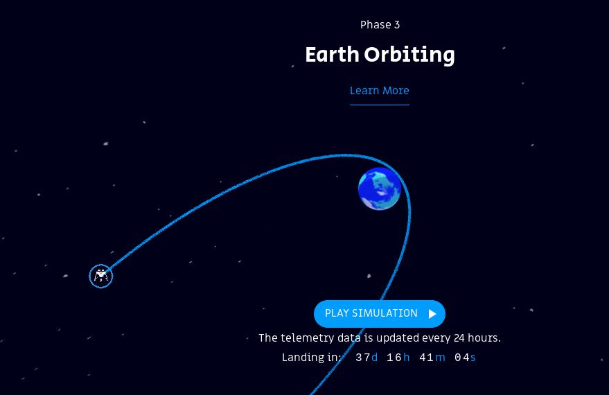 Лунная миссия «Берешит» – селфи на фоне Земли - 7