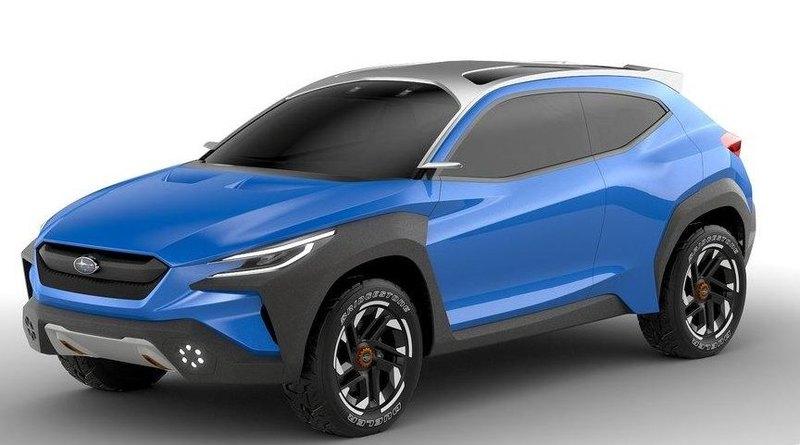 Показан облик будущих моделей Subaru