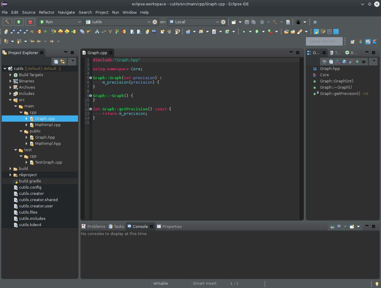 В чем набрать и чем собрать C++ проект - 2