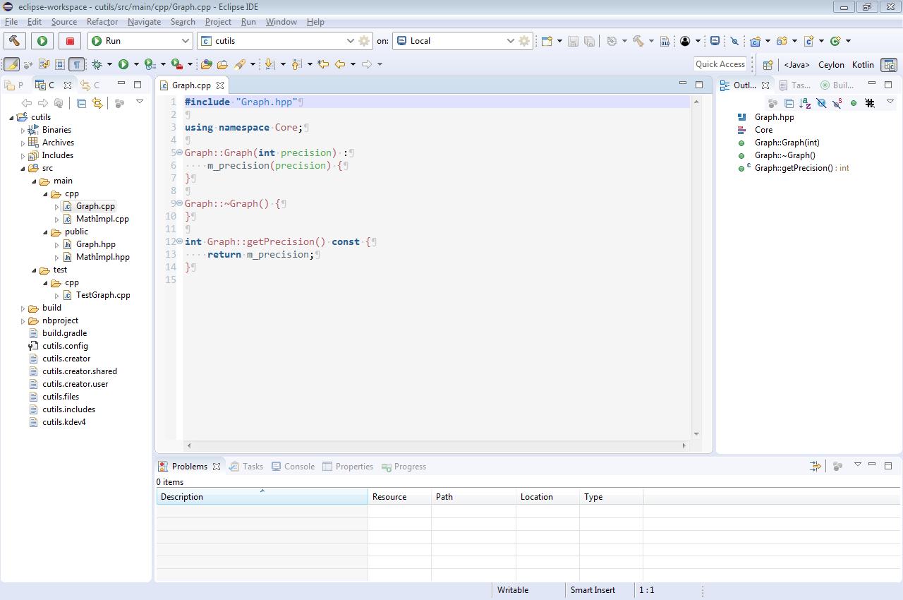 В чем набрать и чем собрать C++ проект - 1