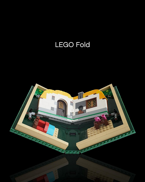 Lego подшутила над Samsung и Huawei. Представлен «планшет» Lego Fold за 70 долларов