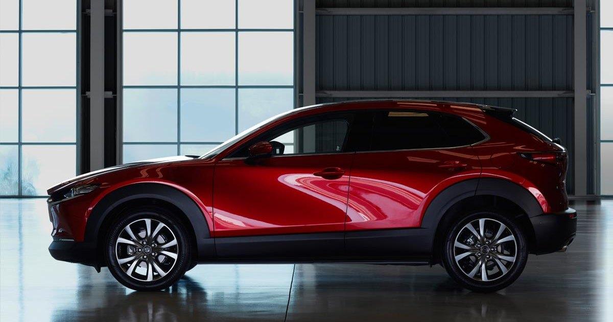 Mazda показала гибридный кроссовер с ноликом