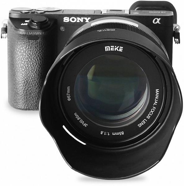Ассортимент Meike пополнил полнокадровый объектив 85mm 1:1.8 MF с креплением Sony E