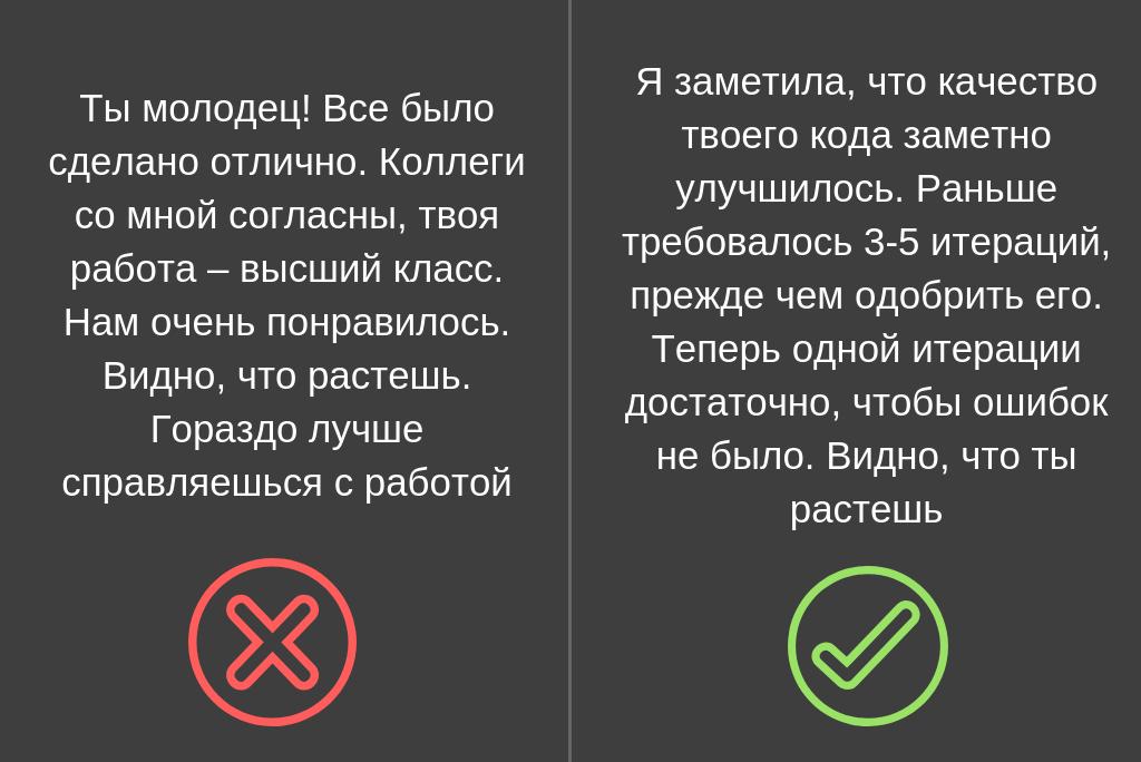 Как давать обратную связь: 9 правил - 6