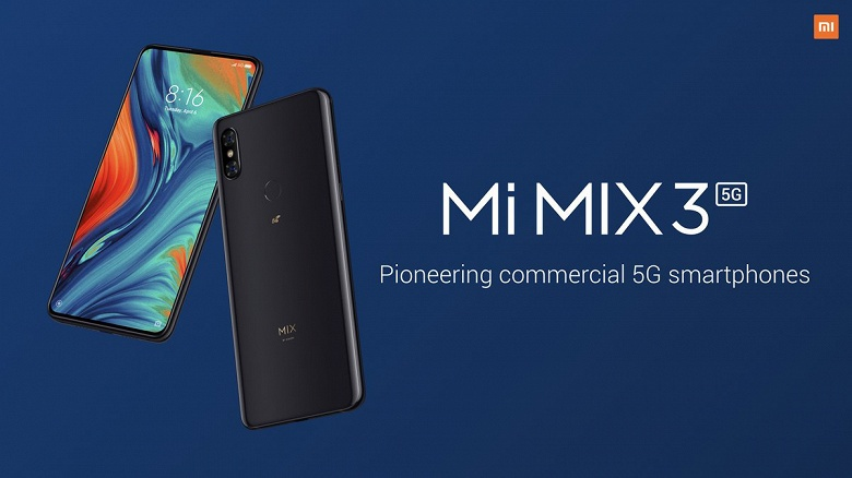 Потоковая трансляция 8K-видео. Смартфон Xiaomi Mi Mix 3 5G умеет и это