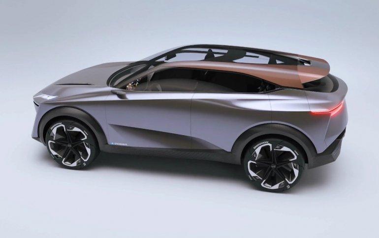 Представлен концептуальный электромобиль Nissan IMQ