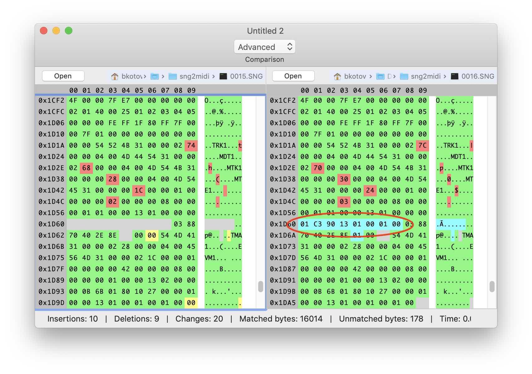 Реверс-инжиниринг бинарного формата на примере файлов Korg SNG. Часть 2 - 5