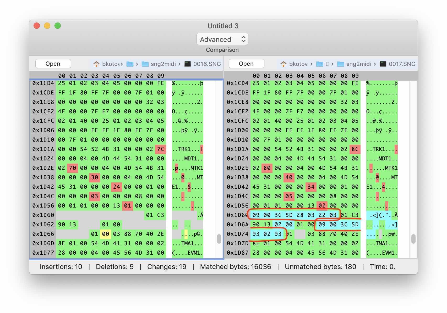 Реверс-инжиниринг бинарного формата на примере файлов Korg SNG. Часть 2 - 6