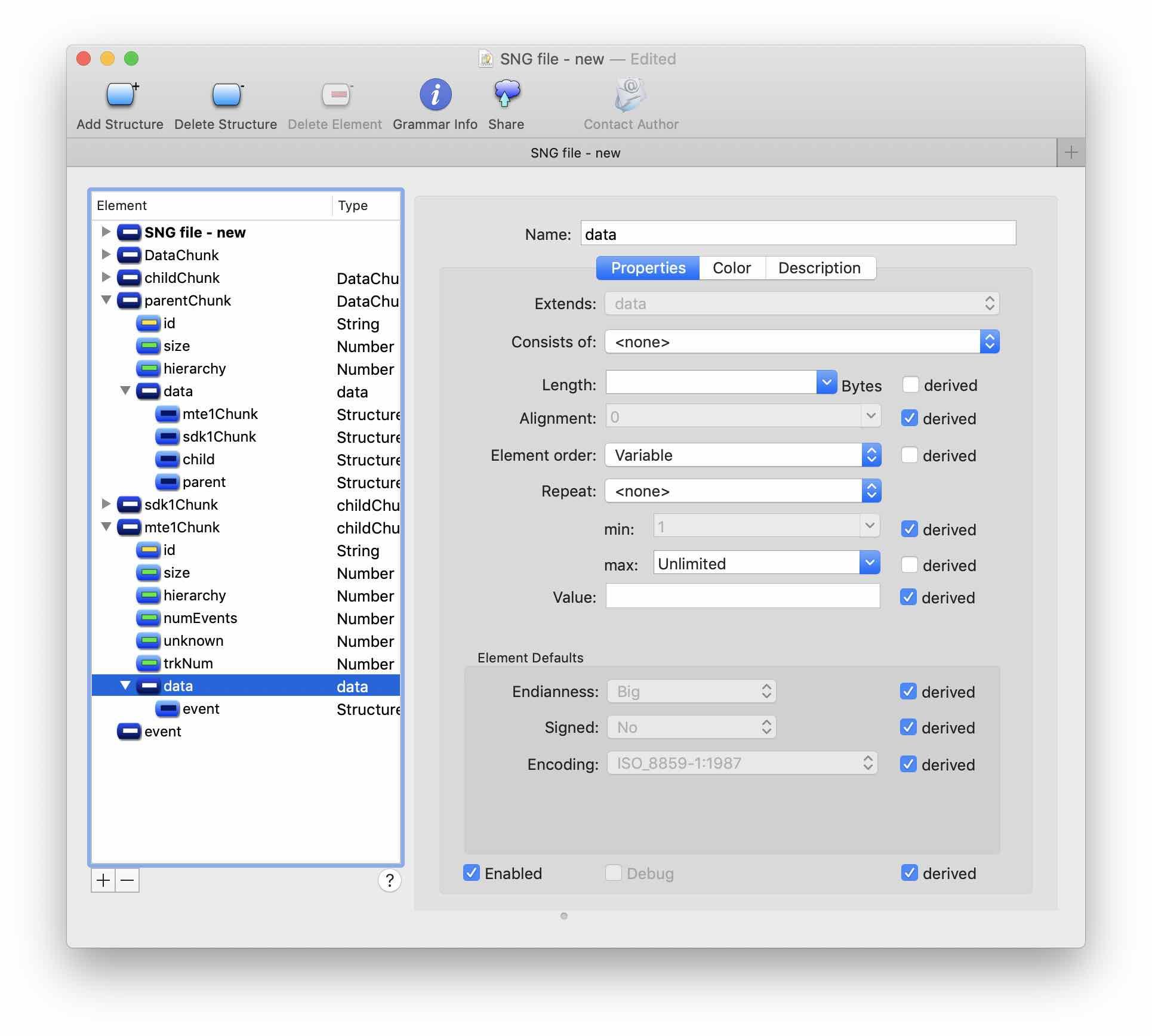 Реверс-инжиниринг бинарного формата на примере файлов Korg SNG. Часть 2 - 7