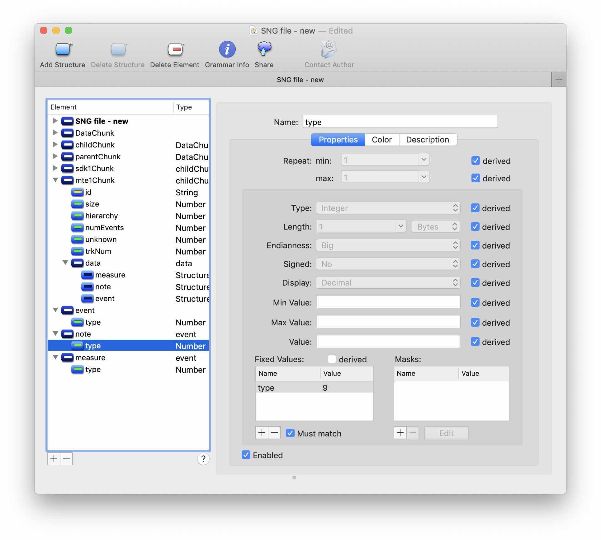 Реверс-инжиниринг бинарного формата на примере файлов Korg SNG. Часть 2 - 9
