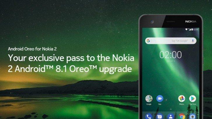 Смартфон Nokia 2 можно обновить до Android 8.1 Oreo