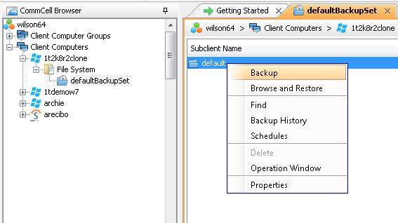 Статья про то, как CommVault делает бэкап PostgreSQL - 3