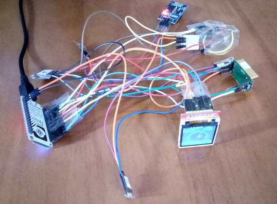 Два в одном: программируемый по Wi-Fi монитор качества воздуха и стрелочные часы - 5