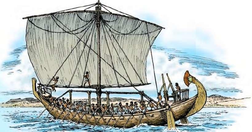 Найдена мачта лодки Тутанхамона